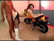 Japanese Biker Fucked His Hot Girlfriend