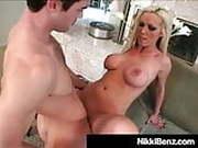 Penis Pounding Plumber Plows Penthouse Pet Nikki Benz!